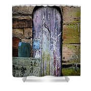 Grave Door Appleby Magna Shower Curtain