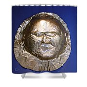 Grave Mask Shower Curtain