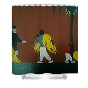 Grave Yard Shower Curtain