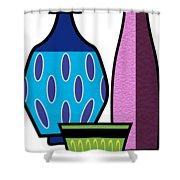 Gravel Art  Shower Curtain