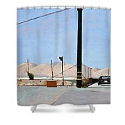 Gravel Piles Downtown La Shower Curtain