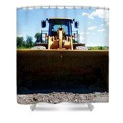 Gravel Pit Cat 972g Wheel Loader 01 Shower Curtain