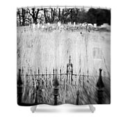 Graveyard 6788 Shower Curtain