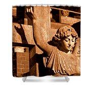 Graveyard Angel. Shower Curtain