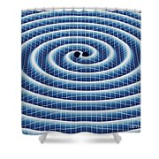 Gravitational Waves Shower Curtain