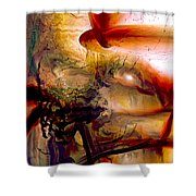 Gravity Of Love Shower Curtain by Linda Sannuti