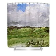 Gray Dunes Shower Curtain