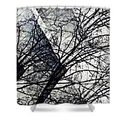 Gray Repetitions Shower Curtain