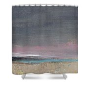 Gray Sky Shower Curtain