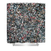 Gray Thing Shower Curtain