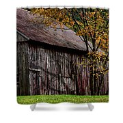 Gray Weathered Barns Number Three Shower Curtain