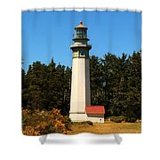 Grays Harbor Light Station Shower Curtain