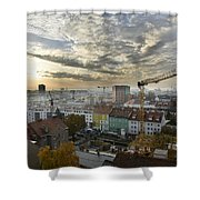 Graz At Work Shower Curtain
