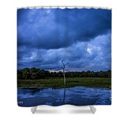 Grean Cay Storm 4 Shower Curtain