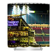 Great American Ballpark Shower Curtain