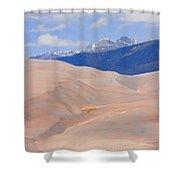Great Colorado Sand Dunes Shower Curtain