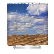 Great Colorado Sand Dunes Mixed View Shower Curtain