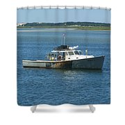 Great Day For A Wreck Shower Curtain