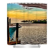 Great Day To Fish Shower Curtain