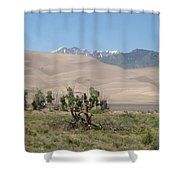 Great Dunes Trifective Range  Shower Curtain