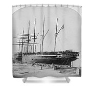 Great Eastern 1858-59 Shower Curtain