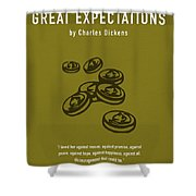 Great Expectations By Charles Dickens Greatest Books Ever Series 023 Shower Curtain