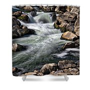 Great Falls Overlook #4 Shower Curtain