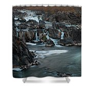 Great Falls Potomac - 3 Shower Curtain