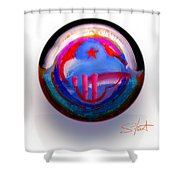 Great Glad Morning Shower Curtain