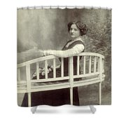 Great Grandmother Shower Curtain by Wim Lanclus