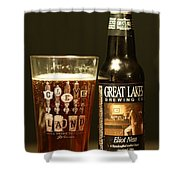 Great Lakes Brewery  Shower Curtain