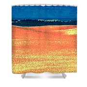 Great Lakes Dunes B Shower Curtain