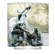 Great Lakes Fountain Shower Curtain