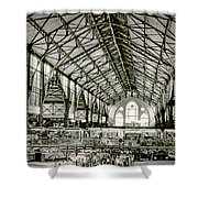 Great Market Hall Shower Curtain