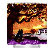 Great Oak Of Tara Shower Curtain