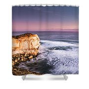 Great Ocean Road Seascape Shower Curtain