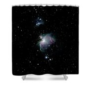 Great Orion Nebula Shower Curtain