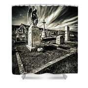 Great Orme Graveyard Shower Curtain
