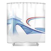 Grand Paris Shower Curtain