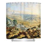 Great Peak Of The Amatola-british-kaffraria  Shower Curtain