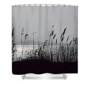 Great Salt Pond Shower Curtain