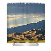 Great Sand Dunes, Colorado Shower Curtain