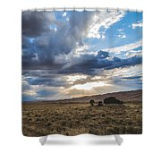 Great Sand Dunes Stormbreak Shower Curtain