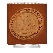 Great Seal Of The State Of New Mexico 1912 Shower Curtain