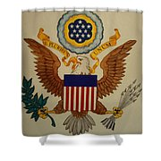 Great Seal Of The United States Of America Shower Curtain