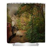 Great Smokey Mountain Railroad Shower Curtain