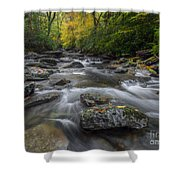 Great Smoky Mountains. Shower Curtain by Itai Minovitz