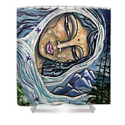 Great Star Mother Shower Curtain