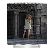 Great Summer Day Shower Curtain