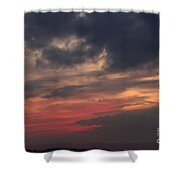 Great White Cloud Shower Curtain